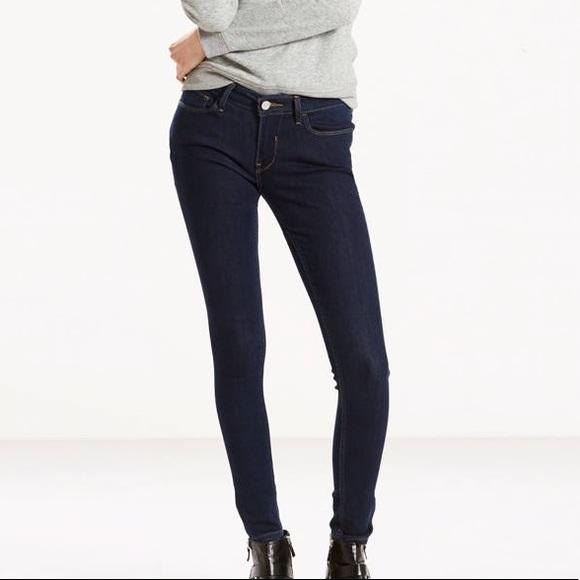 c64469fed08fd Levi's Pants | Levi Dark Wash Legging Skinny Jeans | Poshmark